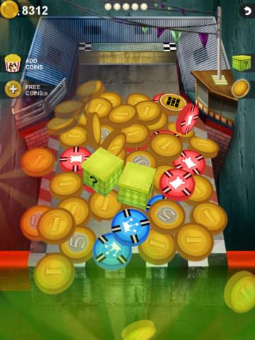 Falling Coins Screenshot